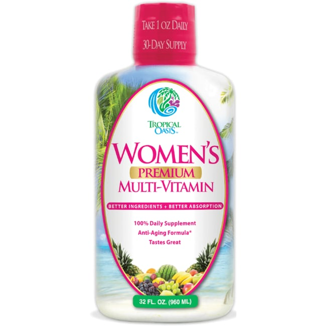 Tropical OasisWomen's Premium Multi-Vitamin