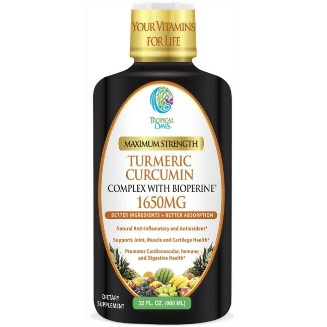 Tropical OasisMaximum Strength Turmeric Curcumin Complex with BioPerine
