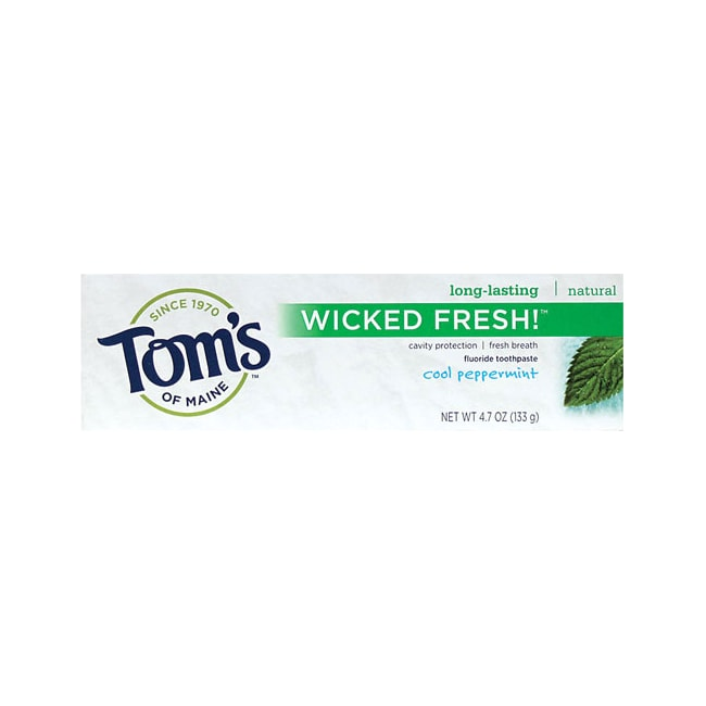Tom's of Maine Wicked Fresh Toothpaste Cool Peppermint
