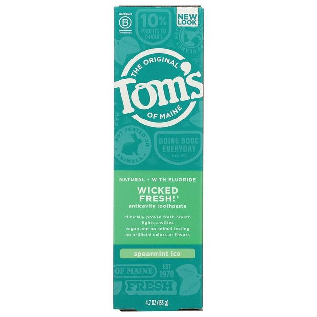 Tom's of Maine Spearmint Ice Wicked Fresh Toothpaste