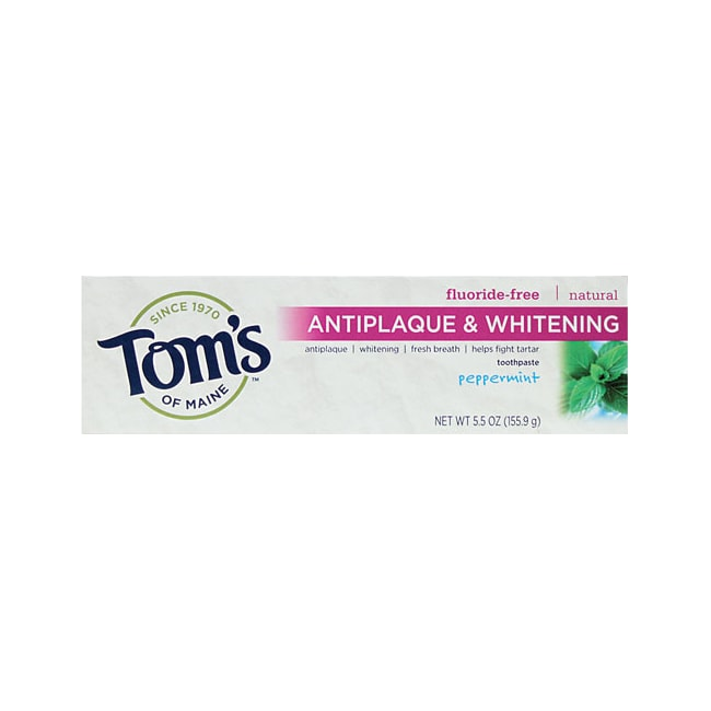 Tom's of Maine Tartar Control & Whitening Toothpaste Peppermint