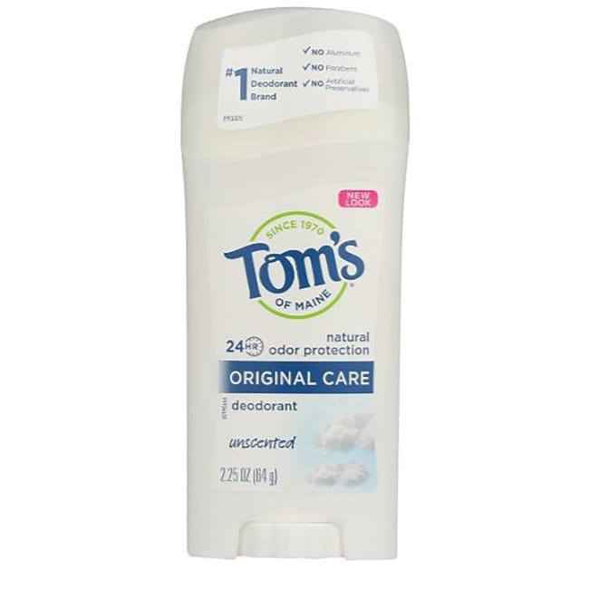 Tom's of Maine Deodorant Stick Unscented