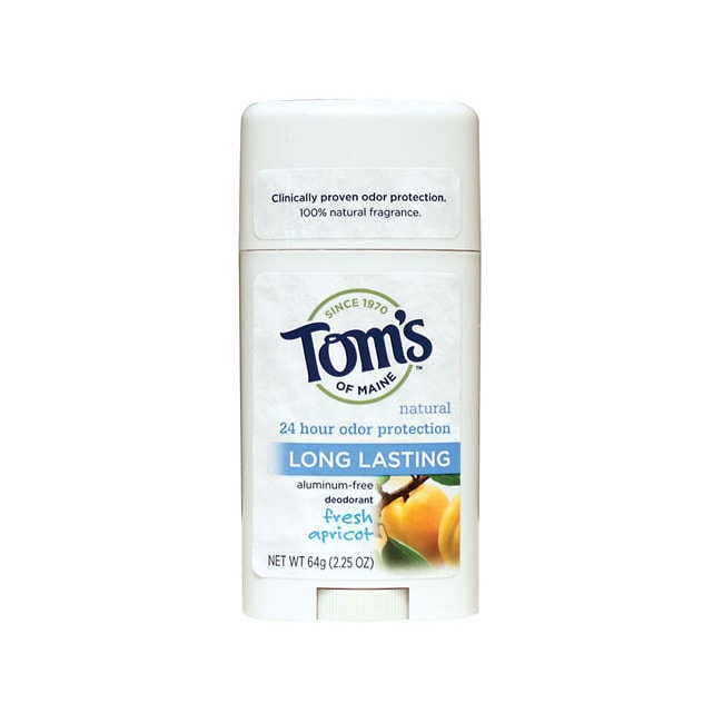 Tom's of Maine Natural Long-Lasting Deodorant - Fresh Apricot