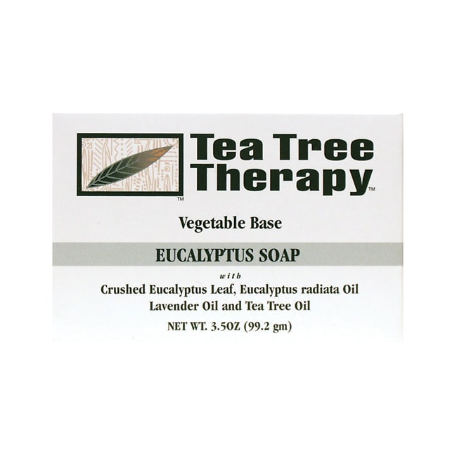 Tea Tree Therapy Eucalyptus Soap Bar Vegetable Base