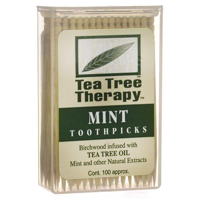 Tea Tree TherapyMint Toothpicks