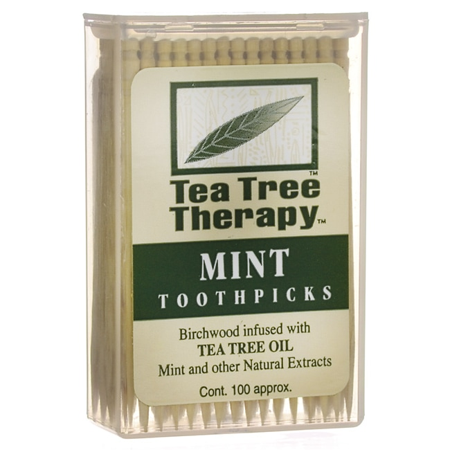 Tea Tree TherapyMint Toothpicks