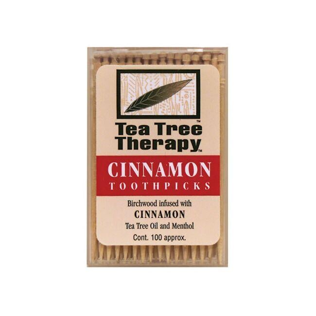 Tea Tree TherapyCinnamon Toothpicks