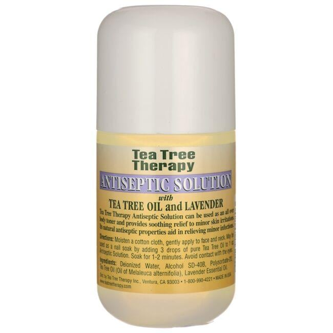 Tea Tree Therapy Antiseptic Solution with Tea Tree Oil and Lavender