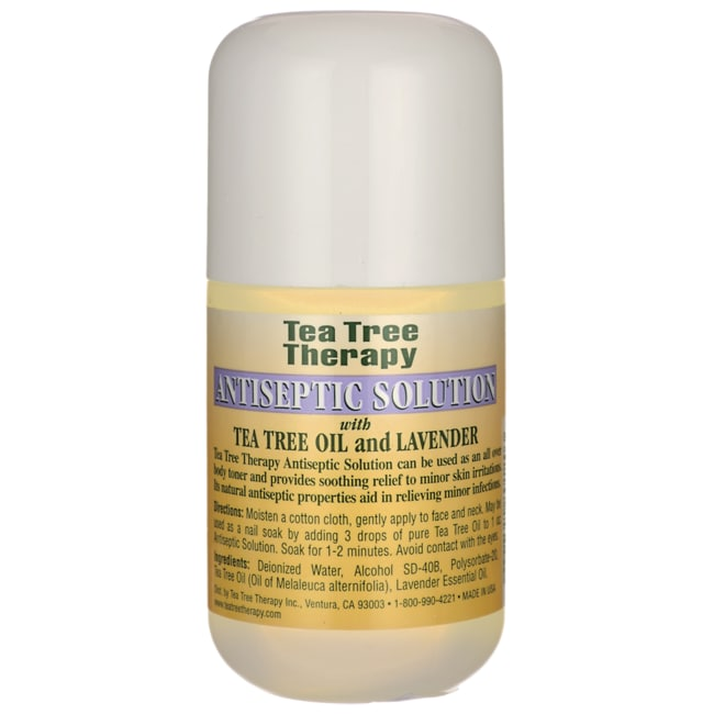 Tea Tree TherapyAntiseptic Solution with Tea Tree Oil and Lavender