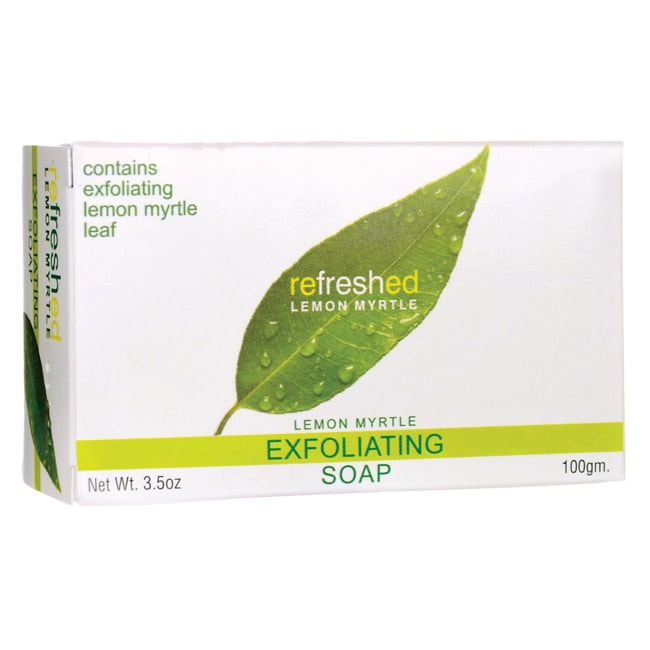 Tea Tree TherapyExfoliating Lemon Myrtle Natural Soap