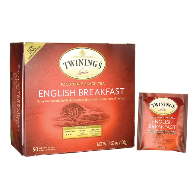 Twinings 100% Pure Black Tea - English Breakfast