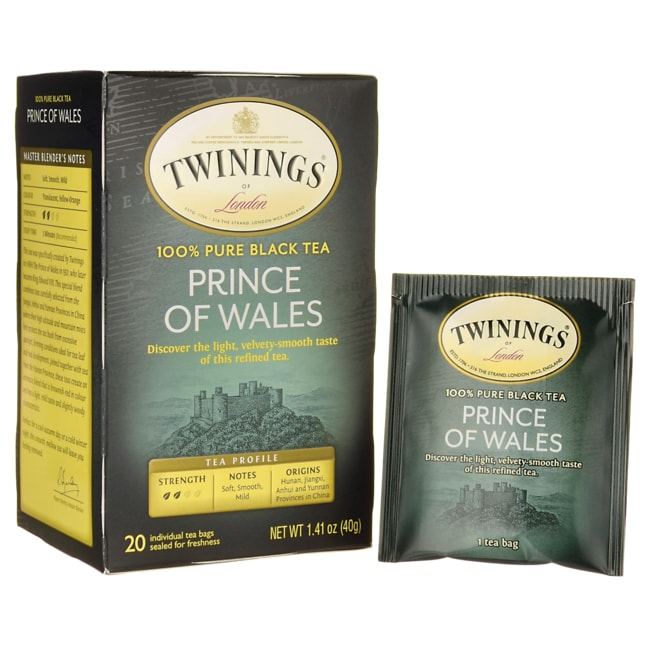 Twinings100% Pure Black Tea - Prince of Wales