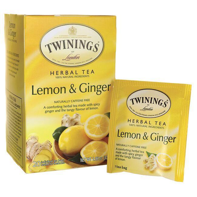 TwiningsHerbal Tea Lemon & Ginger Naturally Caffeine Free