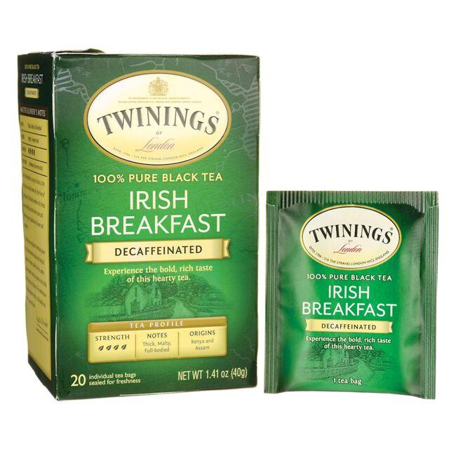 TwiningsIrish Breakfast 100% Pure Black Tea - Decaffeinated