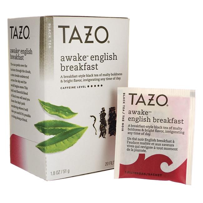 tazo tea black tea awake breakfast 20 bag s