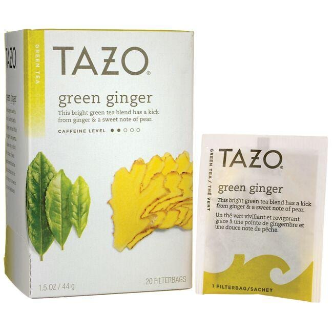 Tazo Tea Green Tea - Green Ginger