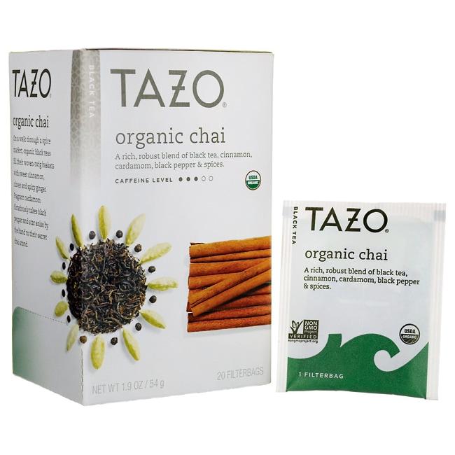Tazo Tea Organic Chai - Black Tea