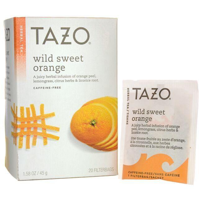 Tazo TeaHerbal Tea - Wild Sweet Orange