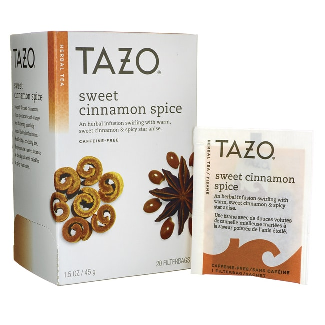 Tazo TeaHerbal Tea - Sweet Cinnamon Spice
