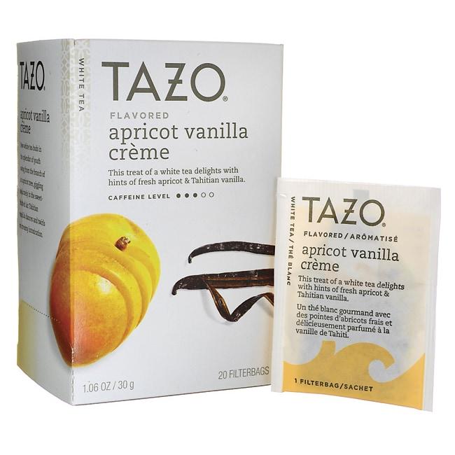 Tazo TeaWhite Tea - Apricot Vanilla Creme