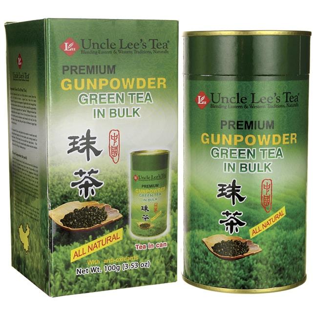 Uncle Lee's Tea Premium Gunpowder Green Tea in Bulk
