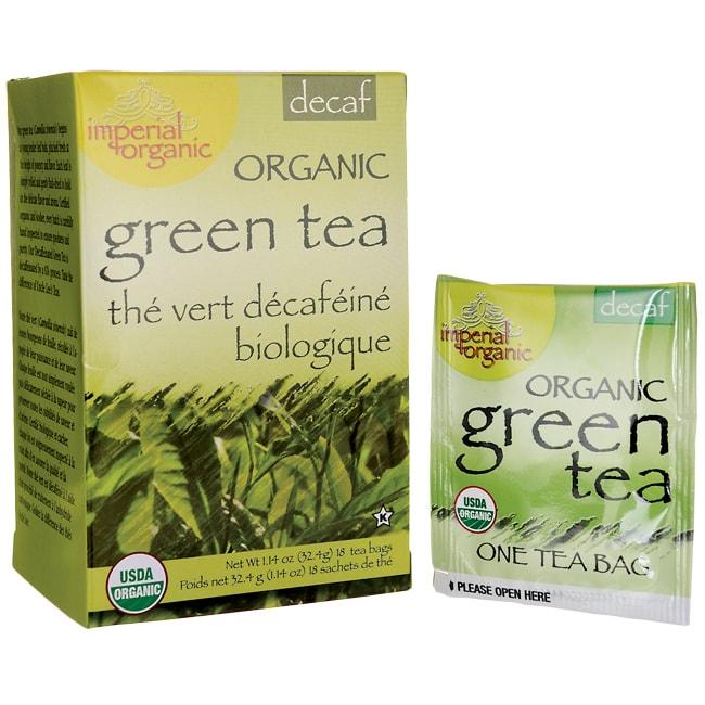 Uncle Lee's Tea Imperial Organic Green Tea Decaf