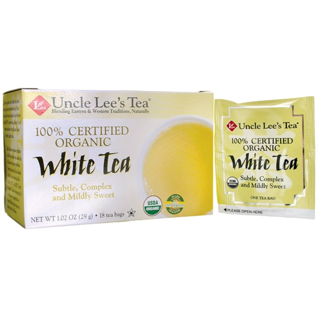 Uncle Lee's Tea Organic White Tea