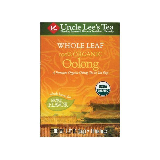 Uncle Lee's TeaWhole Leaf Organic Oolong Tea
