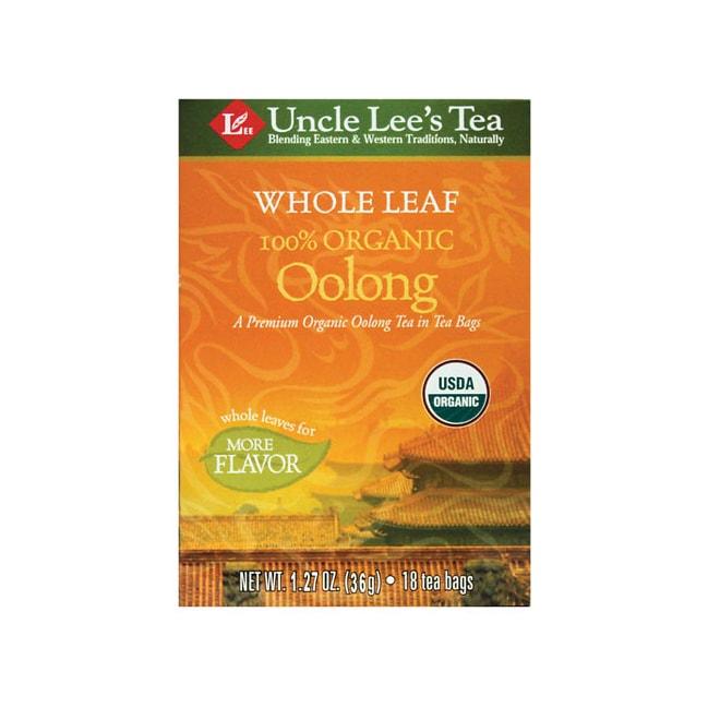 Uncle Lee's Tea Whole Leaf Organic Oolong Tea