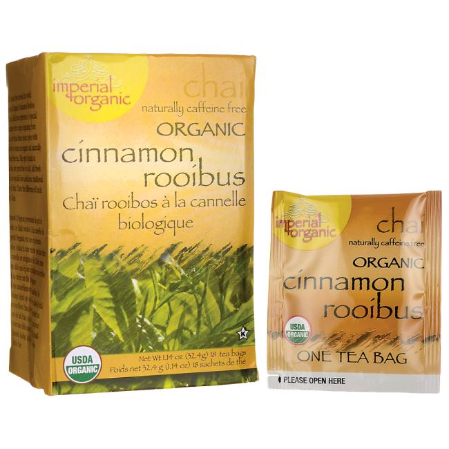 Uncle Lee's Tea 100% Organic Cinnamon Rooibus Tea