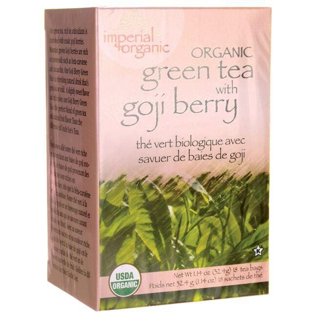 Uncle Lee's Tea Organic Green Tea with Goji Berry