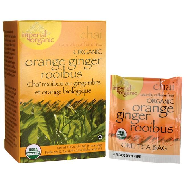 Uncle Lee's Tea100% Organic Orange Ginger Rooibus Tea