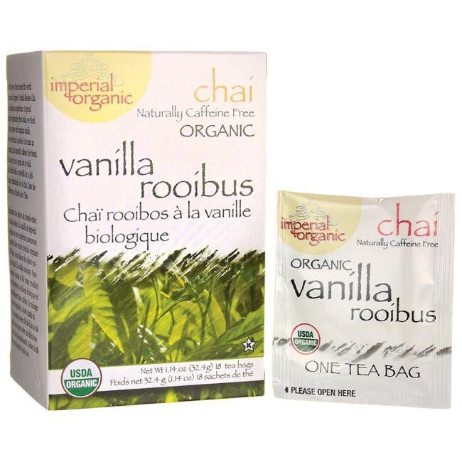 Uncle Lee's Tea 100% Organic Vanilla Rooibus Chai Tea