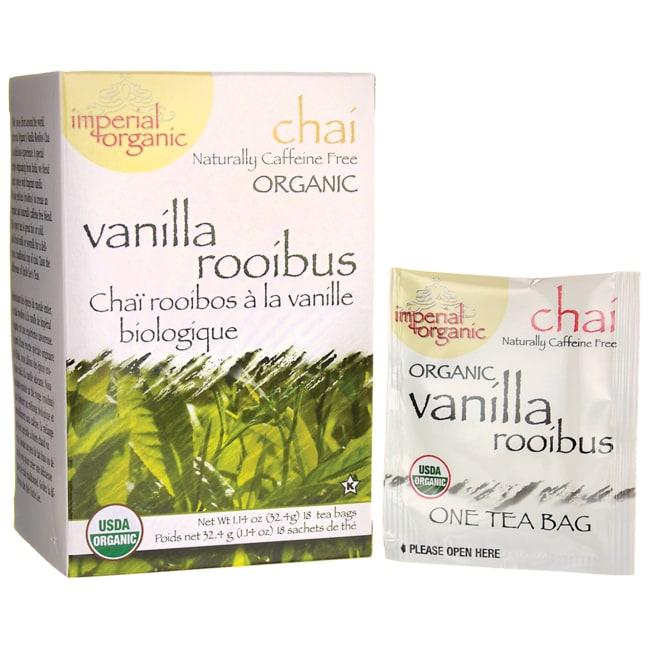 Uncle Lee's Tea100% Organic Vanilla Rooibos Chai Tea