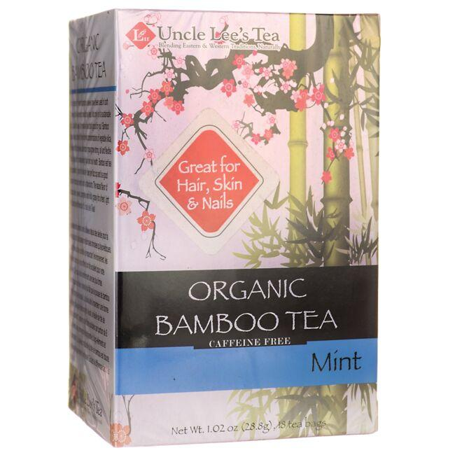 Uncle Lee's TeaOrganic Bamboo Tea - Mint