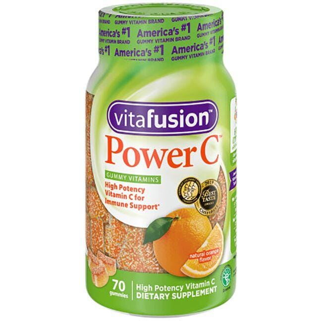 VitafusionPower C Adult Vitamins Gummy - Orange