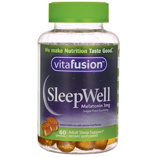 VitafusionSleepWell Melatonin Sugar Free Gummy