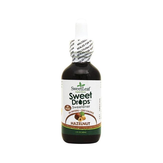 Wisdom NaturalSweetLeaf Sweet Drops Hazelnut Liquid Stevia
