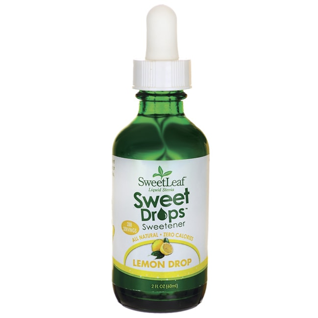 Wisdom Natural SweetLeaf Sweet Drops Lemon Drop Liquid Stevia