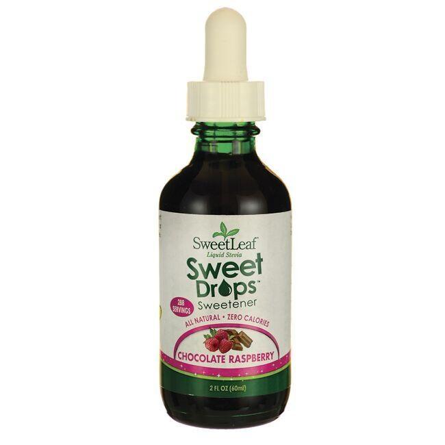 Wisdom NaturalSweetLeaf Chocolate Raspberry Liquid Stevia
