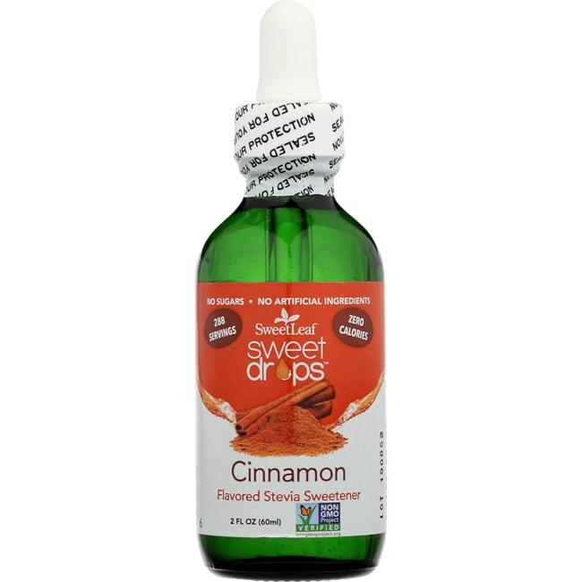 Wisdom NaturalSweetLeaf Cinnamon Liquid Stevia