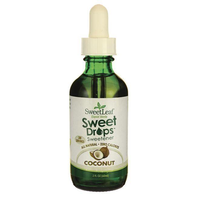 Wisdom NaturalSweetLeaf Coconut Liquid Stevia