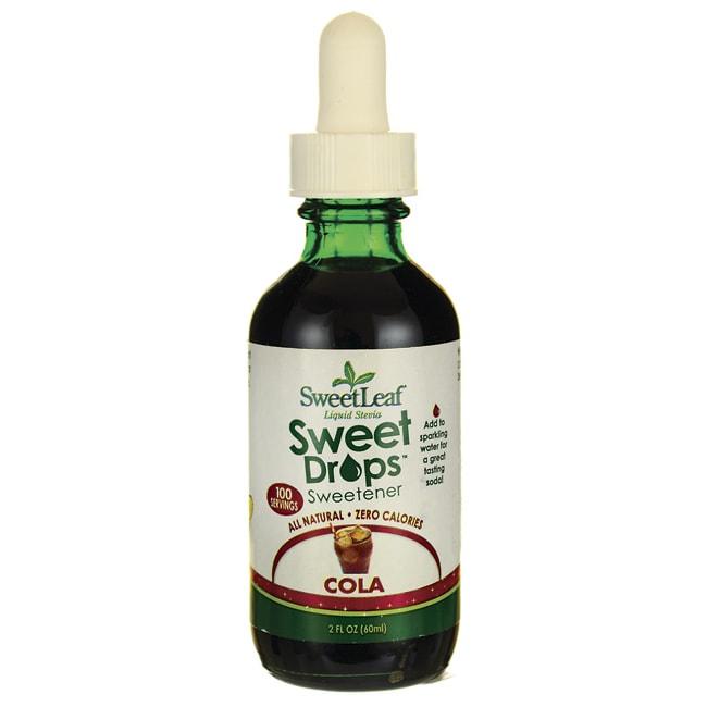 Wisdom NaturalSweetLeaf Cola Liquid Stevia