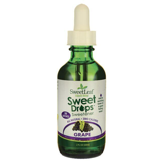 Wisdom NaturalSweetLeaf Grape Liquid Stevia