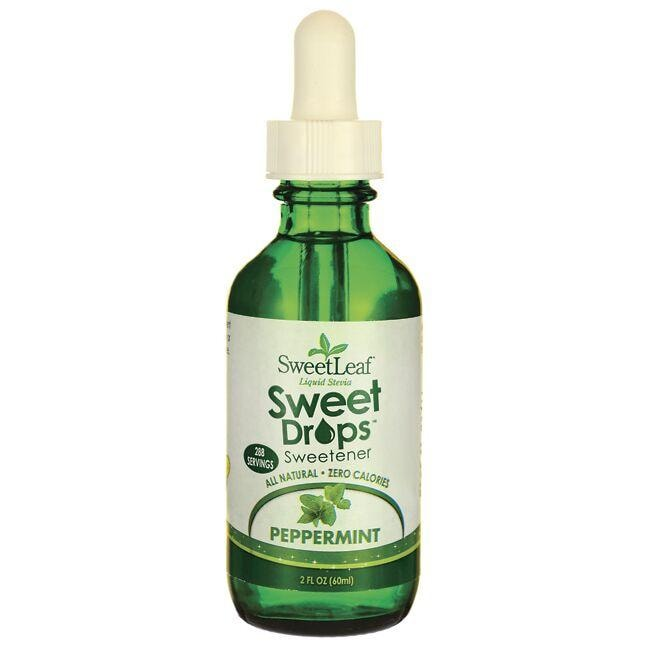 Wisdom Natural SweetLeaf Peppermint Liquid Stevia