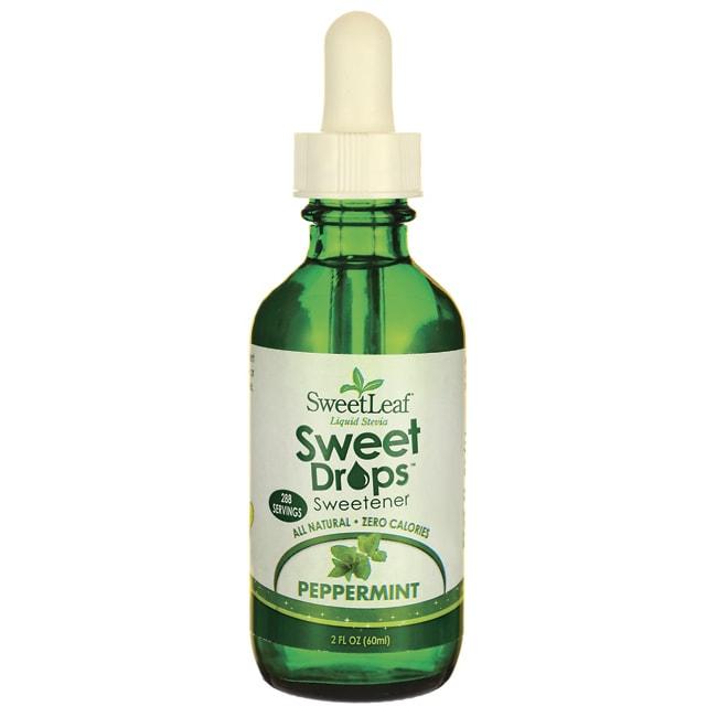 Wisdom NaturalSweetLeaf Peppermint Liquid Stevia