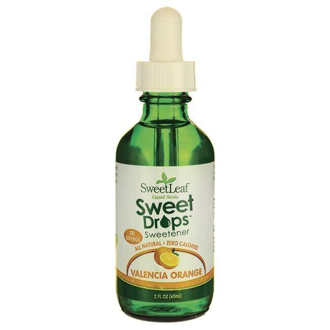 Wisdom NaturalSweetLeaf Valencia Orange Liquid Stevia