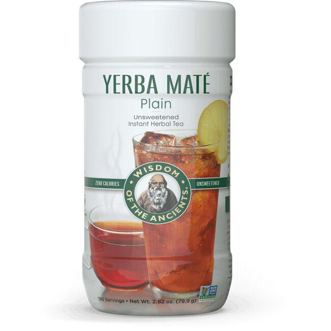 Wisdom NaturalYerba Mate Plain Instant Tea - Unsweetened