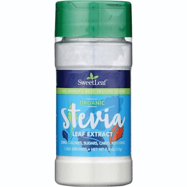 Wisdom NaturalSweetLeaf Organic Stevia Leaf Extract