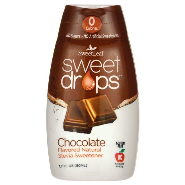 Wisdom Natural SweetLeaf Sweet Drops Liquid Stevia - Chocolate